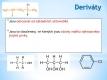 deriváty uhlovodíků - 02