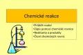 chemicke reakce - 01