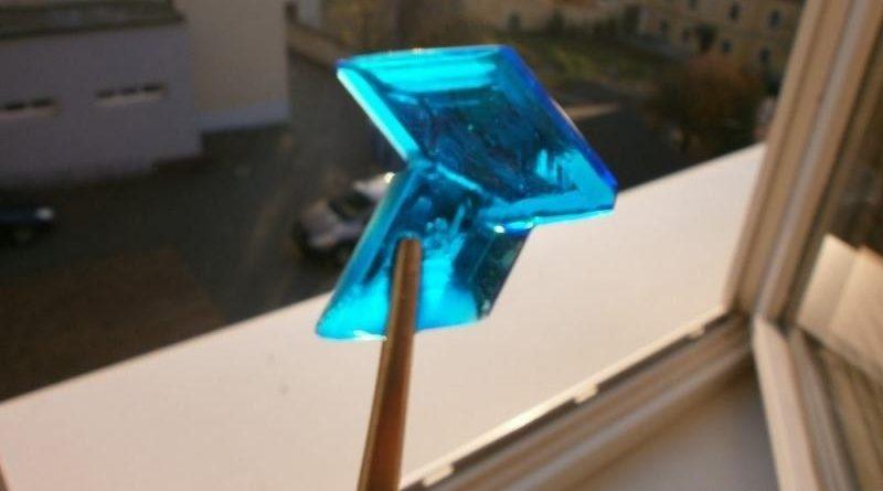 Krystalizace modré skalice