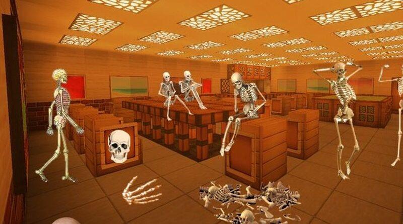Úniková hra – Kosterní soustava